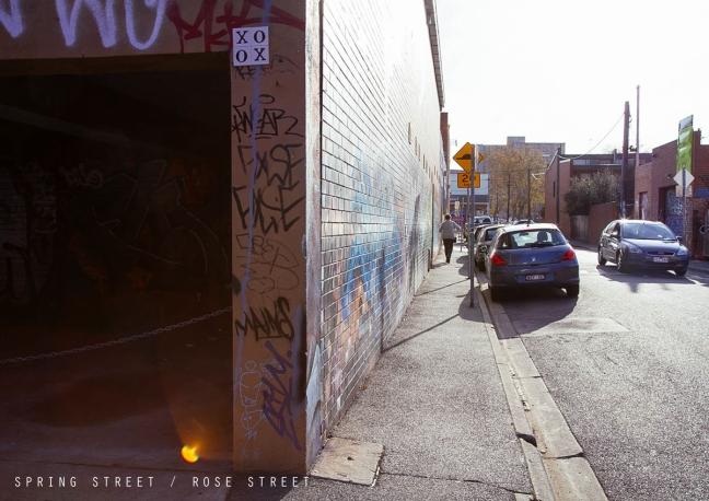 Spring Street : Rose Street